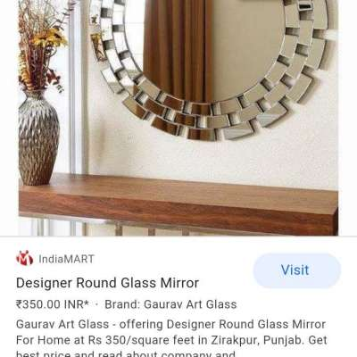 Glass wark desing wood mirrors Profile Picture