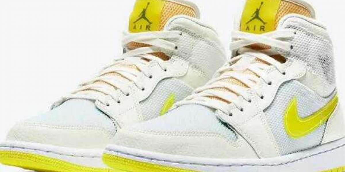 2021 La**** Air Jordan 1 Mid SE Voltage Yellow to Arrive Next Week