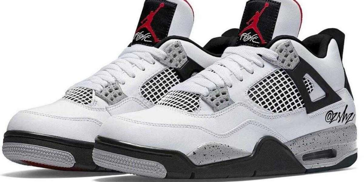 2021 Air Jordan 4 White Cement Release With Some Slight Tweaks