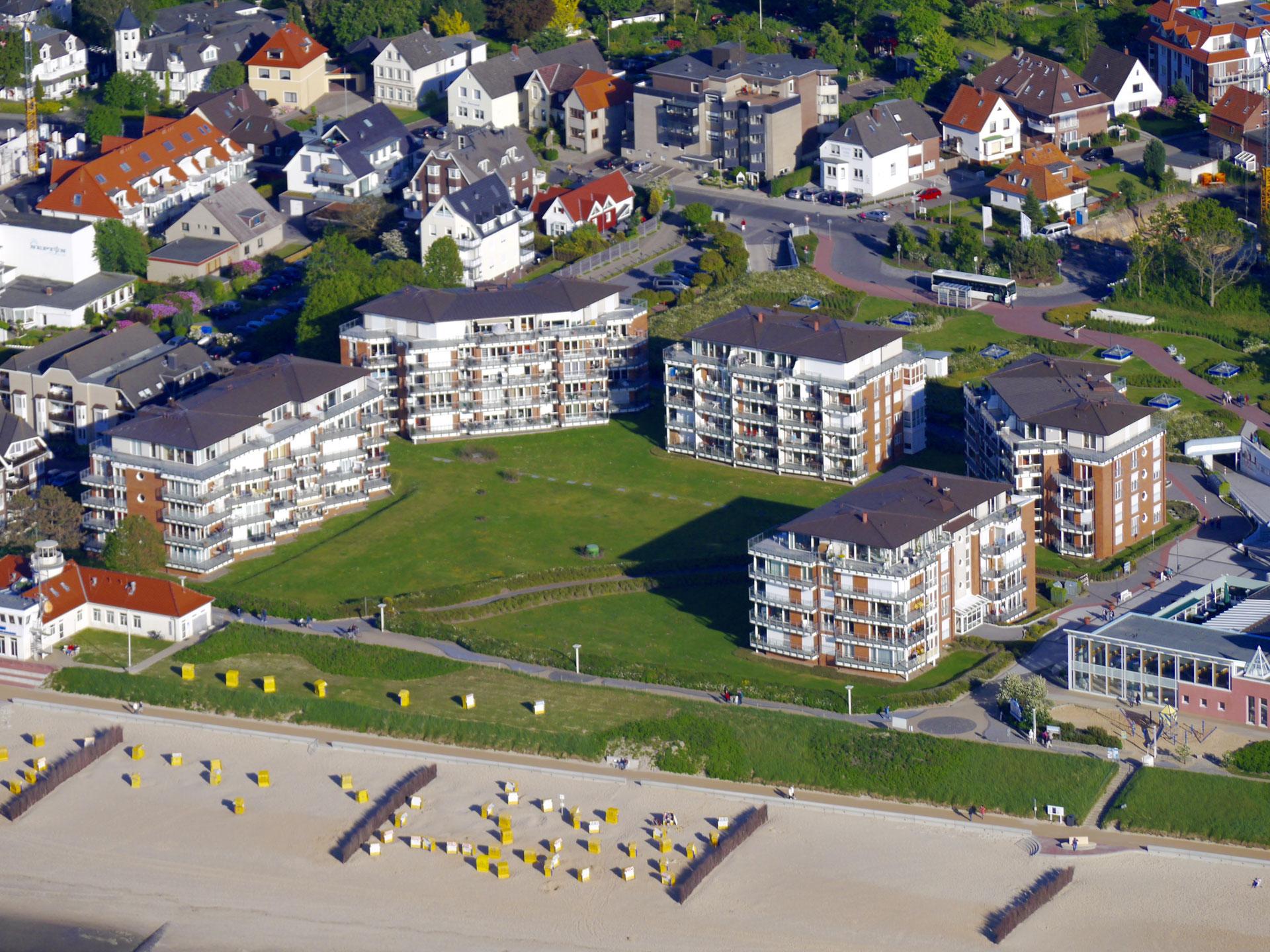 Strandpalais Duhnen - Ferienwohnungen Cuxhaven